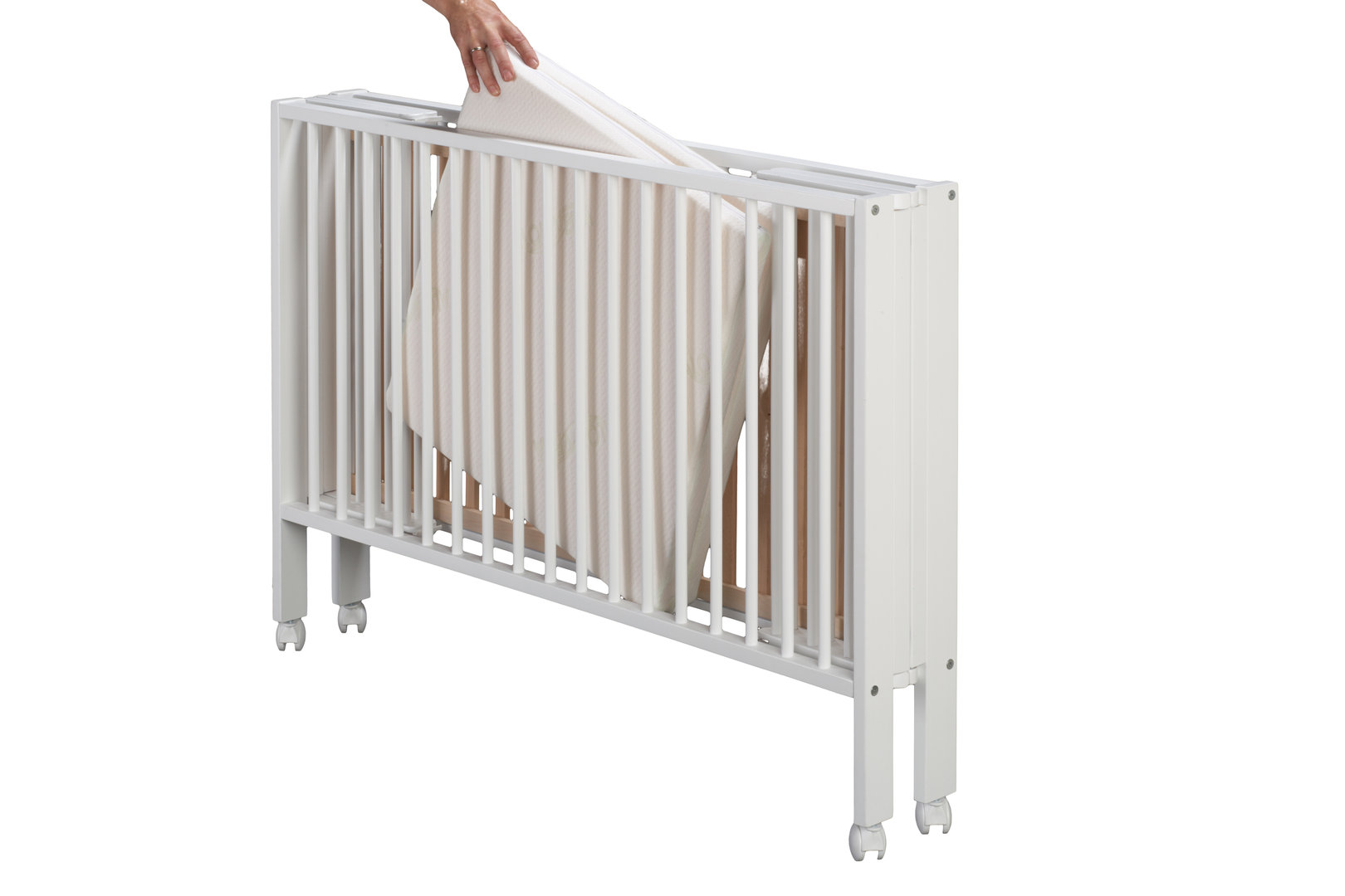 DawOst TiSsi® Reisebett Klappbett Kinderbett + Matratze