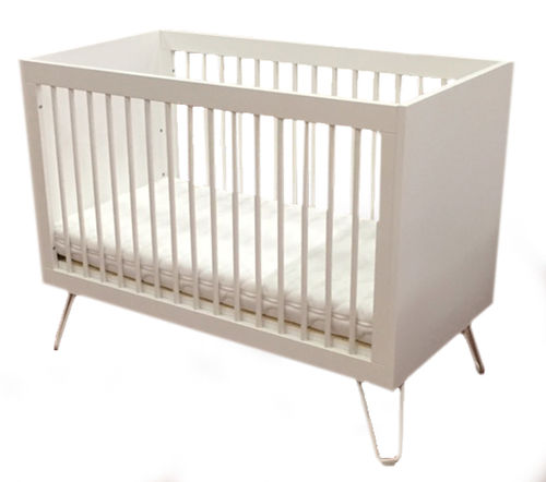 Ironwood Iron White Babybett Childwood Babybed 60 x 120