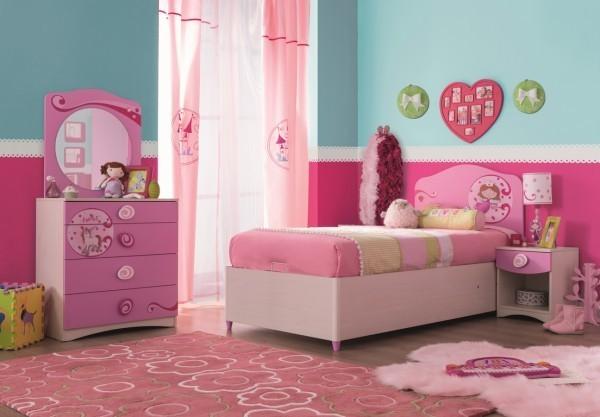 Mädchenzimmer Kinderzimmer Princess Prinzessin by MM + HARiBO Stauraumbett