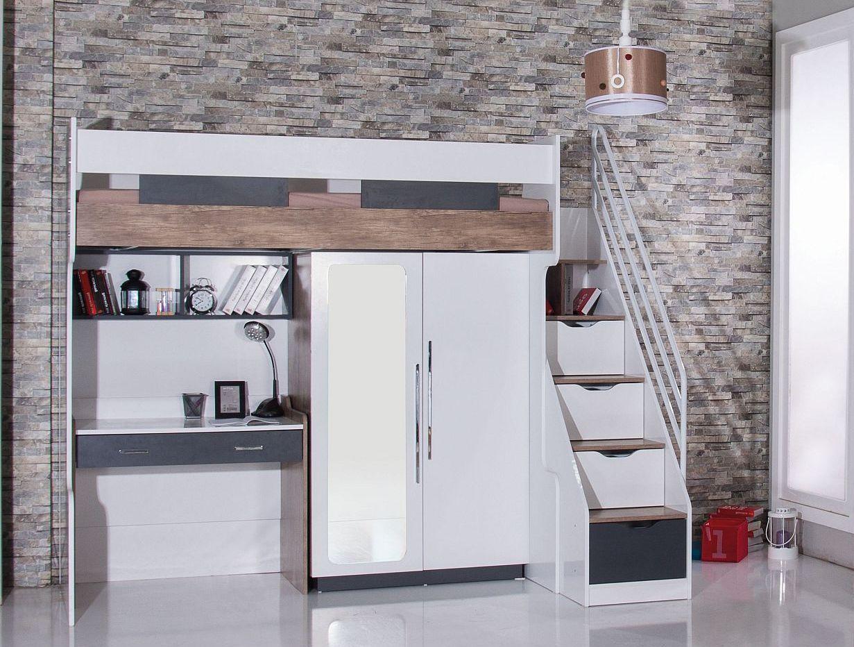Etagenbett Hoch : Kleines kinderzimmer mit hoch oder etagenbett einrichten freshouse