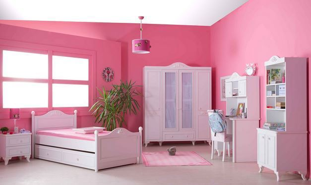 Bymm Kinderzimmer Siena Bett Schrank Konsole Frei Haus