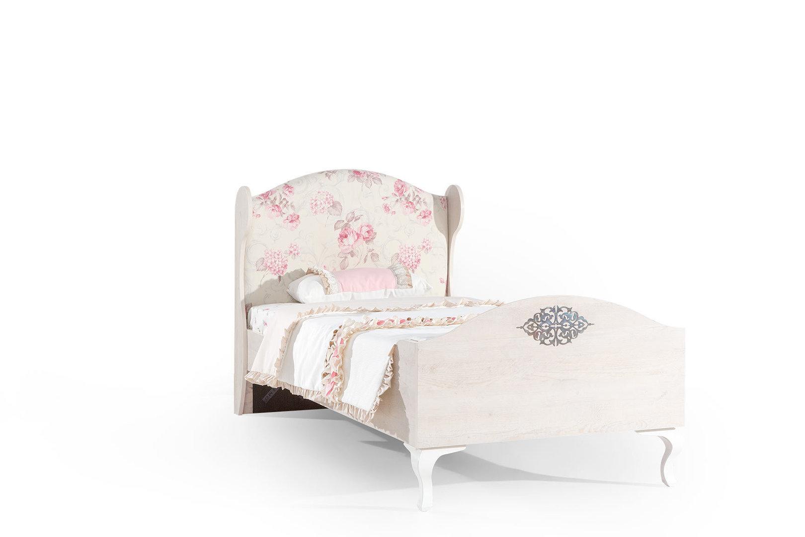 bymm kinderbett ballerina 90 x 200 sonoma eiche precogs. Black Bedroom Furniture Sets. Home Design Ideas