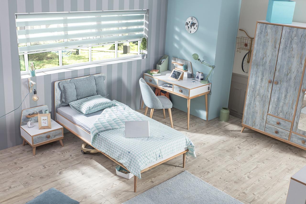 Bymm Kinderzimmer Aquasi Bett Schrank Konsole 1 Kg Haribo