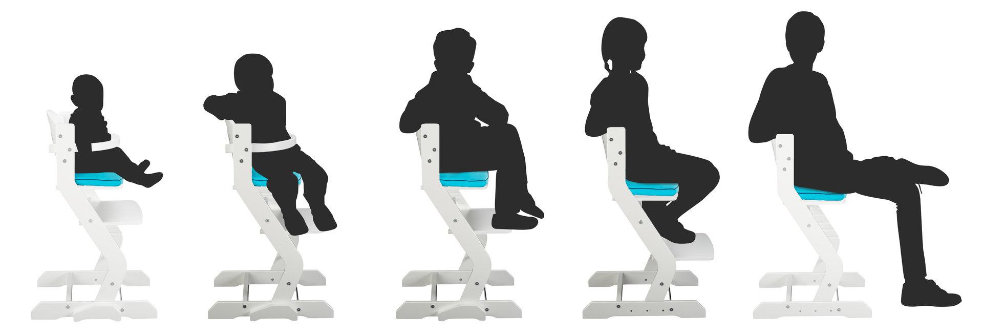 tissi hochstuhl set weiss tisch brustb gel gurt precogs. Black Bedroom Furniture Sets. Home Design Ideas
