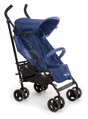 Childwheels Buggy Multi Pos Canvas Blau
