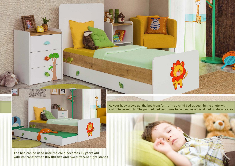 Babyzimmer Kinderzimmer Safari by MM 6-teil HARIBO - Precogs