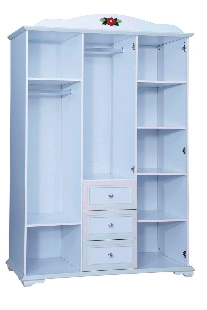 bymm kinderzimmer cindy bymm weiss 90 x 200 3 t riger. Black Bedroom Furniture Sets. Home Design Ideas