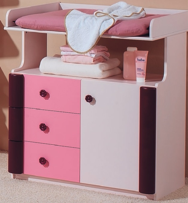 kinderzimmer rosalie taube buche massiv 3 t rosa precogs. Black Bedroom Furniture Sets. Home Design Ideas