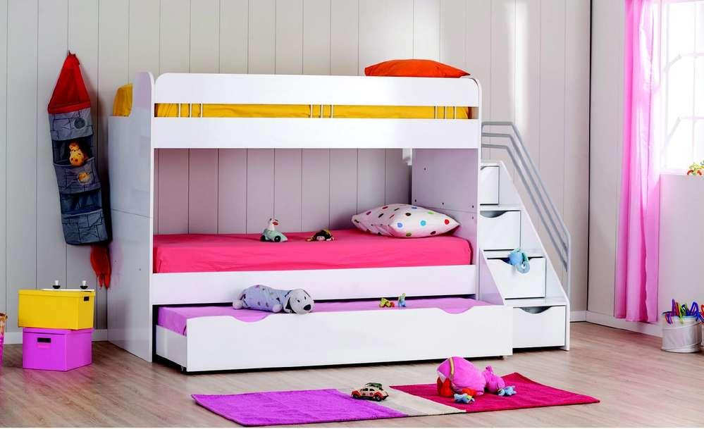 Etagenbett Für Puppenhaus : Bymm hochbett etagenbett cm kiiko weiß haribo precogs