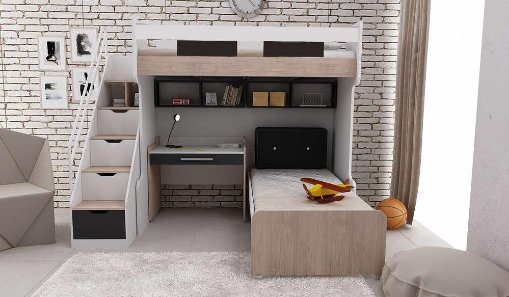 Etagenbett Haba : Bymm hochbett etagenbett compact komb nr precogs