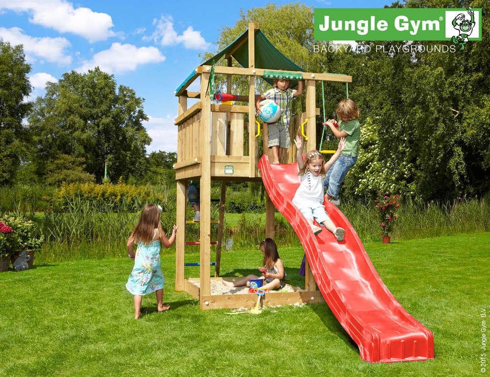 Klettergerüst Jungle Gym : Jungle gym spielturm lodge rutsche frei haus precogs