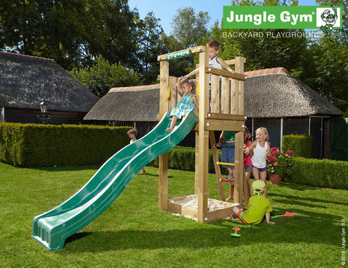 Jungle Gym Spielturm Jungle Tower 280 cm Frei Haus