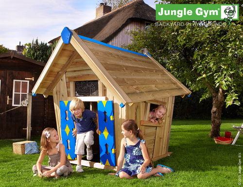 Jungle Gym Crazy Playhouse Spielhaus Baumhaus 235x190
