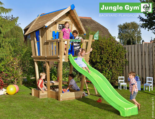 Jungle Gym Crazy Playhouse CXL Spielhaus Baumhaus