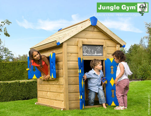 Jungle Gym Jungle Playhouse Spielhaus Baumhaus 160 cm