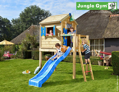 Jungle Gym Jungle Playhouse Spielhaus  L 310 x 249 Frei Haus