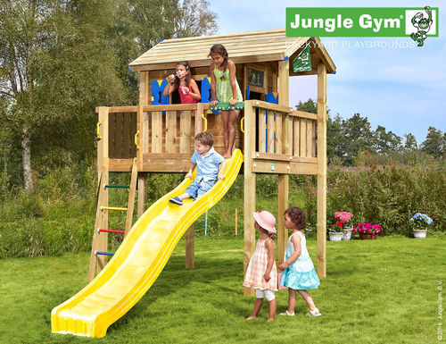 Jungle Gym Playhouse XL 423 x 305 cm Frei Haus