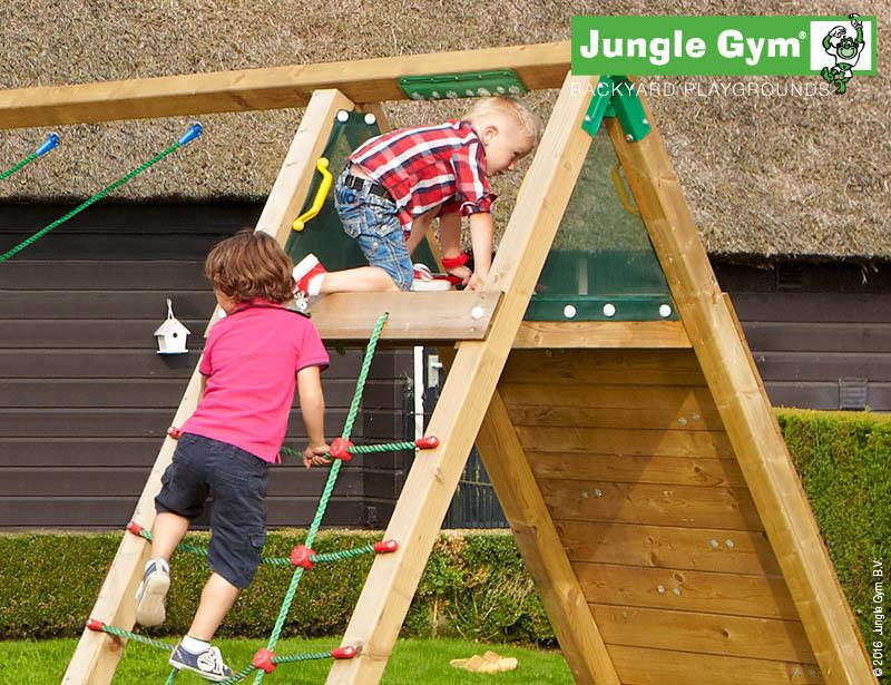 Klettergerüst Jungle : Cabin climb fuchsie jungle gym garten kinder holz spielgeräte