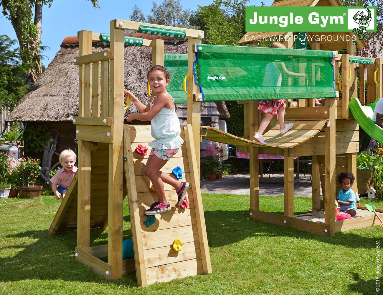 Klettergerüst Hängebrücke : Jungle gym hängebrücke anbaumodul bridge spielturm precogs