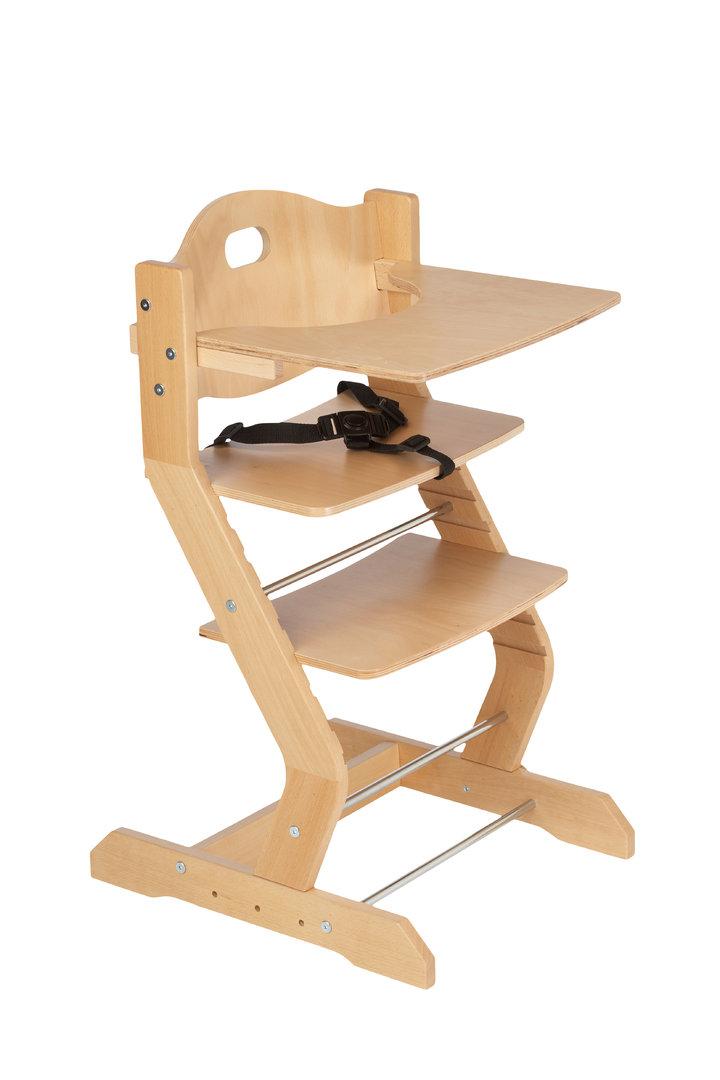 tissi hochstuhl set tisch brustb gel polster gurt nat precogs. Black Bedroom Furniture Sets. Home Design Ideas