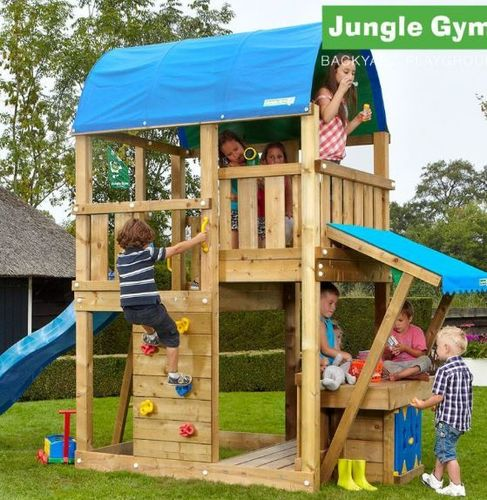 Jungle Gym Spielturm Farm + Market Frei Haus