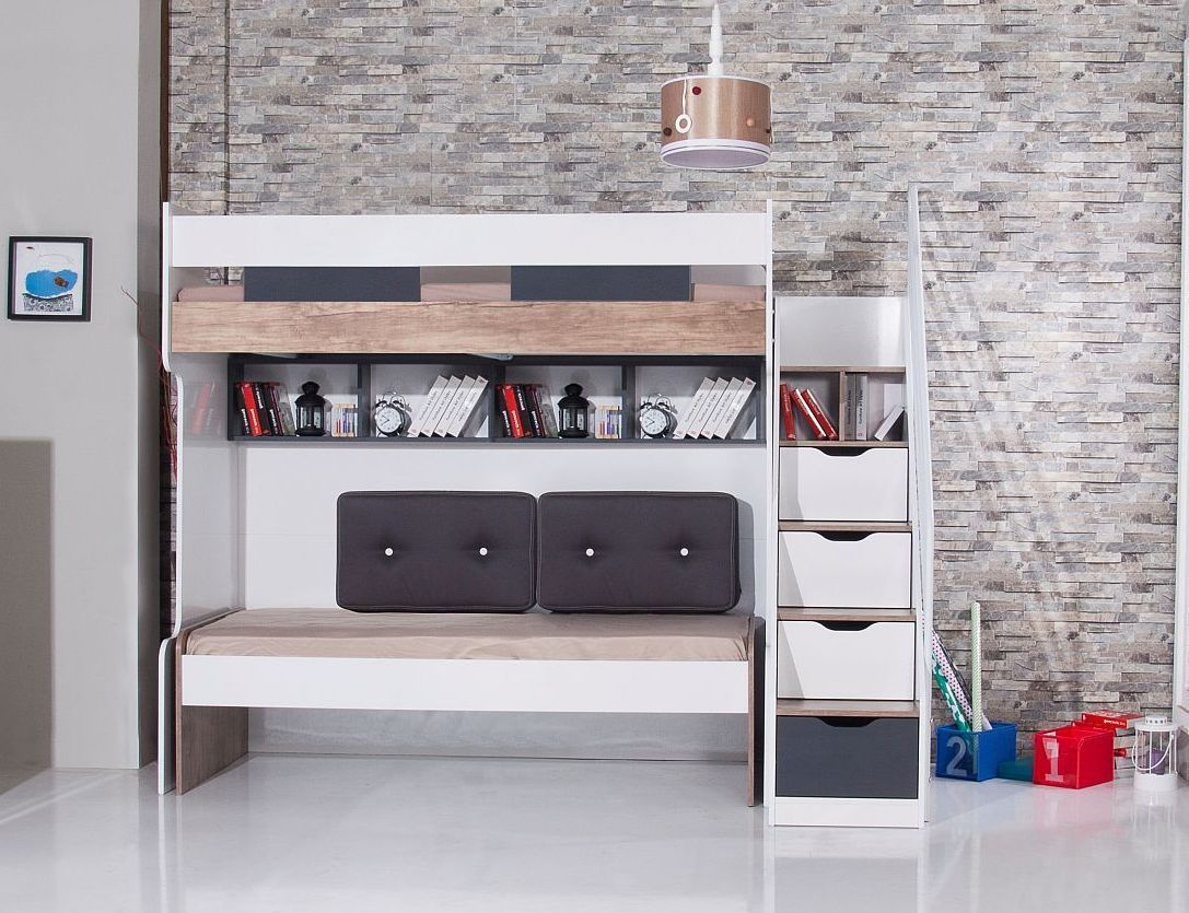 Etagenbett Für 3 : Bymm hochbett etagenbett compact komb nr precogs